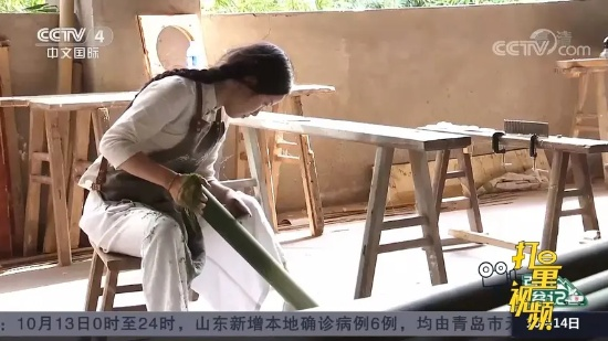 贵州省赤水市民族村:竹编得到新传承,生活质量节节高
