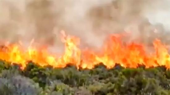 非洲最高峰乞力马扎罗山发生大火,已连烧2天,仍未被扑灭