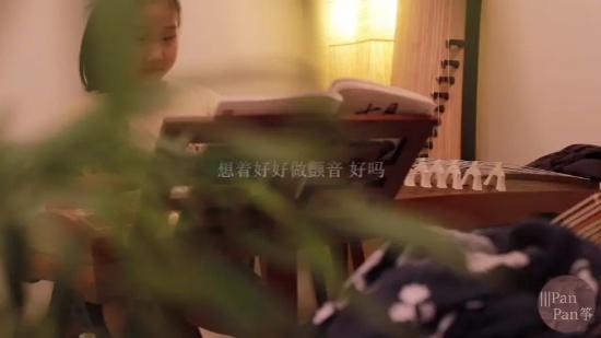 给小宝上古筝课|她笑起来真好看|Vlog3(二)#广州古筝