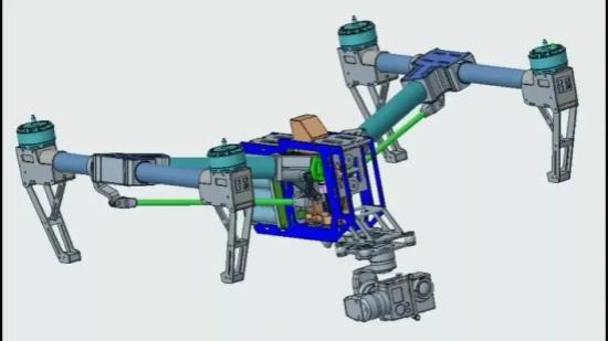 飞行器UG设计三维建模 机械加工 3d设计