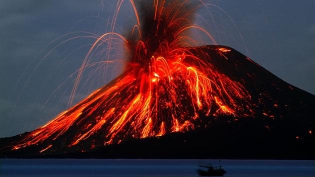 揭秘史上十大最剧烈的火山喷发:场景犹如世界末日(1)