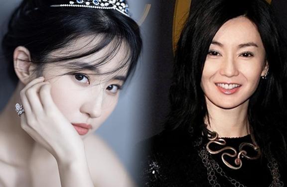 名副其实吧!在国际上最有知名度的四位中国女艺人是她们