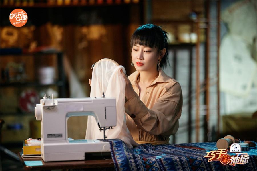 谭卓《巧手神探》解锁刺绣工艺 用传统手艺唤起你的审美记忆