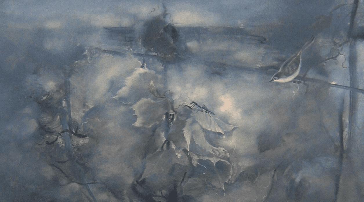 全国写意中国画作品展 画家方宋作品《溪山过雨》入选并获奖